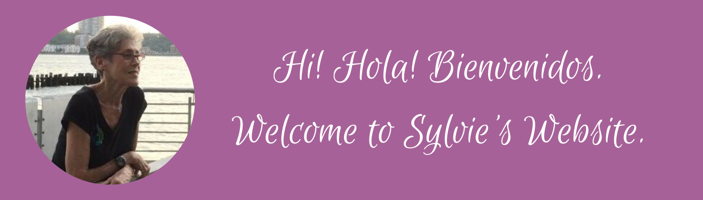 Welcome to Sylvie's Website